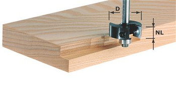 Festool Rebating cutter HW 38mm