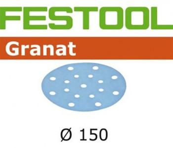 Festool Granat | 150 Round | 400 Grit | Pack of 100 (496987)