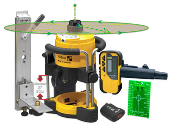 Stabila LAR120 Green Beam Rotating Interior Laser Kit (05300)