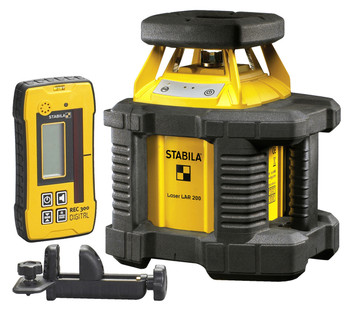 Stabila LAR200 Interior / Exterior Self Leveling Laser Kit Only (05510)