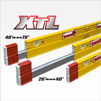"Stabila 26""-40"" Type XTL Exact Length Plate Level (35240)"