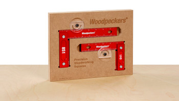 Woodpeckers | Model 641 -851 Precision Woodworking Square Combo (Metric Scale) (641851M)
