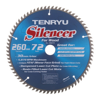 Tenryu SL-26072 All Purpose Silencer Series (Fits Festool Kapex)