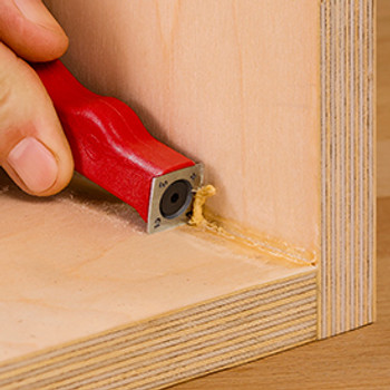 Woodpeckers Mini-Scraper with Cambered Insert