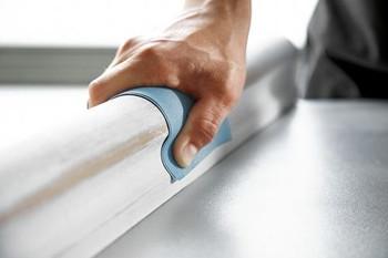"Festool Granat | Sheet Paper 9""x11"" | 400 Grit | 50 pcs - example"