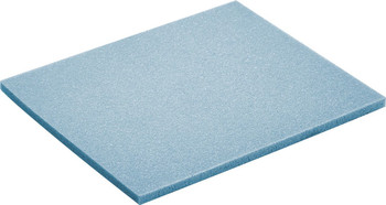 "Single Sided Sponge 4-1/2"" x 5-1/2"" x 3/16"" 