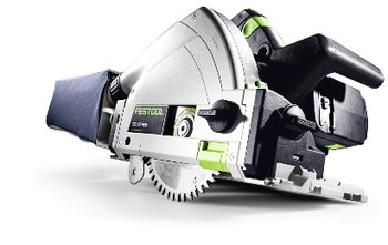 Festool TSC 55 REB Li IMPERIAL Cordless Plunge-Cut Saw - side view