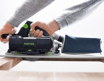 Festool TSC 55 REB Li IMPERIAL Cordless Plunge-Cut Saw - workshop example
