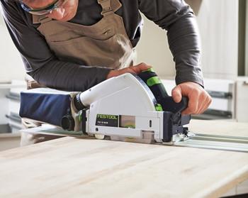 Festool TSC 55 REB-FS IMPERIAL Cordless Plunge-Cut Saw - workshop example 2