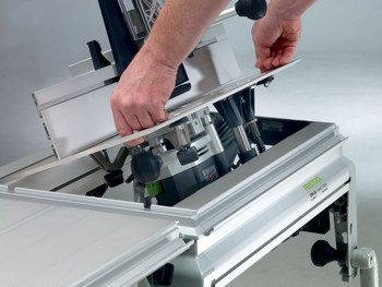 Festool CMS-VL MFT/3 Router Table Set - example