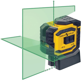 Stabila LAX300G Green Beam ProLiner Cross Line Laser