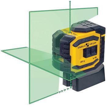Stabila LAX300G Green Beam ProLiner Cross Line Laser