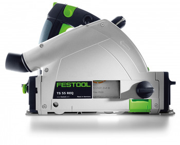 Festool TS 55 REQ-F-Plus Plunge Cut Saw w/o Guide Rail - side view