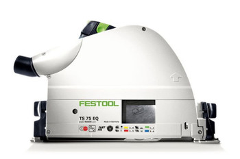 Festool TS 75 EQ-F-Plus Plunge Cut Circular Saw w/o Guide Rail