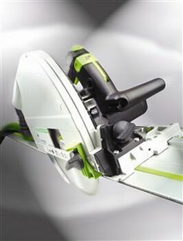 Festool TS 75 EQ-F-Plus Plunge Cut Circular Saw w/o Guide Rail - forward view