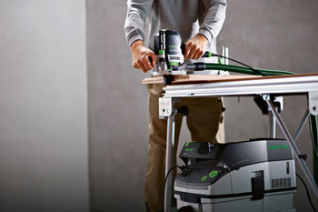 Festool Dust Extractor CT 36 E HEPA - workshop example