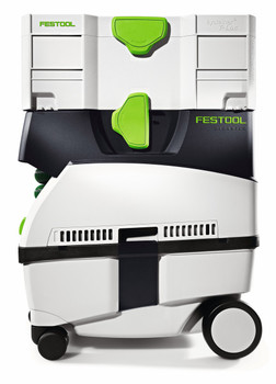 Festool Dust Extractor CT MINI T-LOC HEPA - sideview