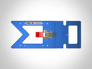 TSO GRS-16 PE Parallel Edge Guide Rail Square - full view
