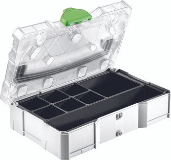 Festool NEW SYS Mini T-Loc Empty Systainer w/ Clear Lid & Insert