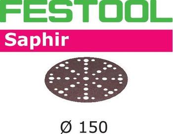 Festool Saphir | 150 Round | 50 Grit