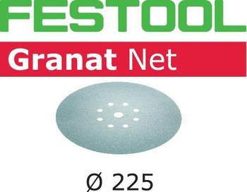 Festool Granat Net | D225 Round | 100 Grit