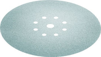 Festool Granat Net | D225 Round | 100 Grit - close up