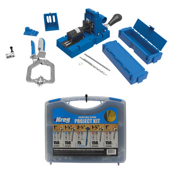 Kreg Jig K5 Master System + Screws Kit Bundle