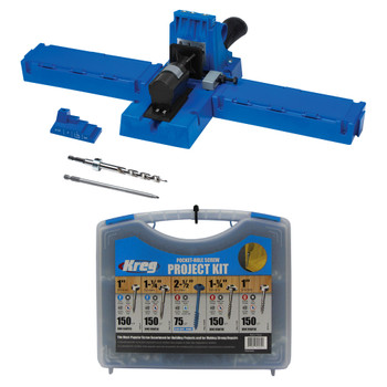 Kreg Jig K5 + Screws Kit Bundle