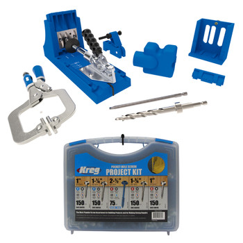 Kreg Jig K4 Master System + Screws Kit Bundle
