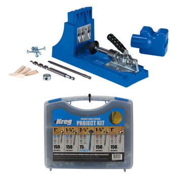 Kreg Jig K4 + Screws Kit Bundle
