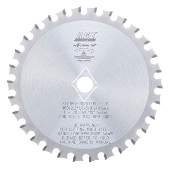 Amana Steel Cutting Blade for TS 75 (STL210-30)