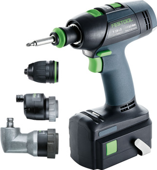 Festool T18 Compact Li 3.1 Bluetooth SET (575695)