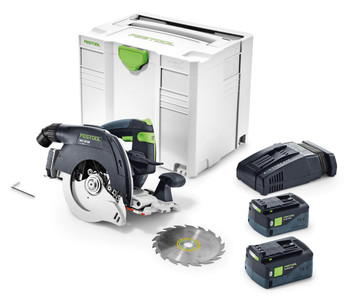 Festool 576819 Cordless circular saw HKC 55EBI-F-Set-FSK250