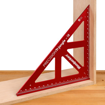 """Woodpeckers One-Time Precision Triangle 12"""" w/ Case (PCT12WC-19)"""