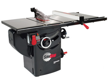 "Professional Cabinet Saw 3HP, 1ph, 230v, w/ 30"" Premium fence system"