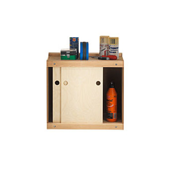 Storage Cabinet for Senior Bench Height (SJO-33394)
