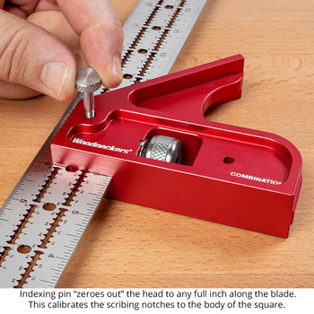 Woodpecker One-Time Tool Combination Square Standard - 12 inch Blade