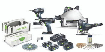 Festool 205604 Pro Finish Pack TID/T18/TSC/PSC