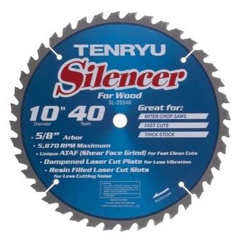 "Tenryu Blade - 10"" 40 Tooth 5/8"" Arbor 5870 RPM (SL-25540)"