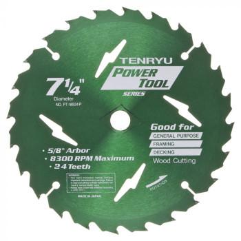 "Tenryu Blade - 7-1/4"" - 24 Tooth 5/8"" Arbor (PT-18524P)"