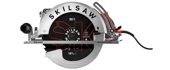 "Skilsaw 16-5/16"" Magnesium Super Sawsquatch Worm Drive Saw (SPT70V-11)"
