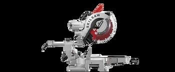 """Skilsaw 12"""" Worm Drive Dual Bevel Sliding Miter Saw w/Diablo Blade (SPT88-02)"""