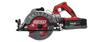 "Skilsaw 7-1/4"" TRUEHVL Cordless Worm Drive Saw Kit (SPTH77M-22)"