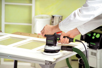 Festool NEW Mutli-Jetsream 2 ETS 150/3 EQ Random Orbital Sander - workshop example