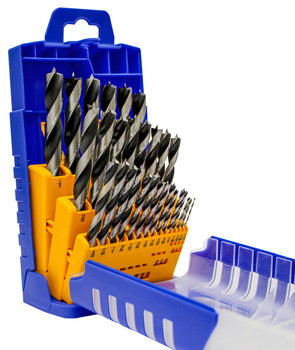 Chrome Vanadium Wood Twist Drill 29-Piece Set
