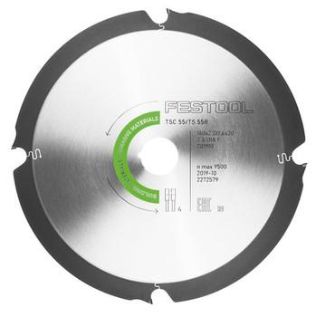 Diamond Saw blade for Abrasive Materials  DIA 160x1,8x20 F4
