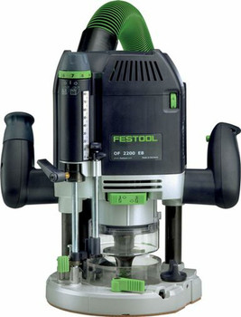 Festool OF 2200 EB Router IMPERIAL (574689) With OF 2200 Accessory Kit (Metric) (497655)
