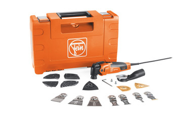 Fein MULTIMASTER MM 500 PLUS TOP with attachments and carrying case