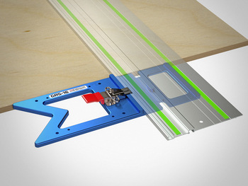 TSO GRS-16 PE Parallel Edge Guide Rail Square (61-230-R) With Quick Guide Rail Adapter for TPG Parallel Guide System (Fits Festool Only) 61-388 & TSO TPG-50 Parallel Guide System Set (61-383)
