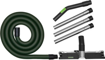 Festool Workshop Cleaning Set with Sleeved Hose (203409)